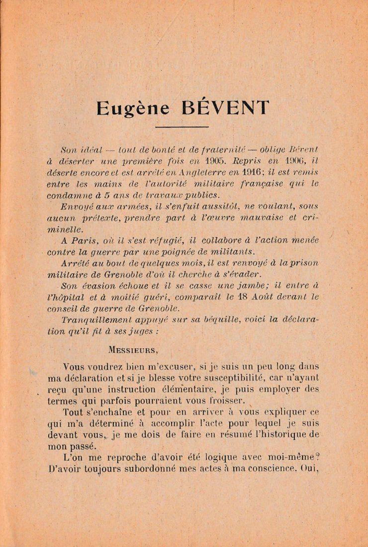 Eugène Bévant